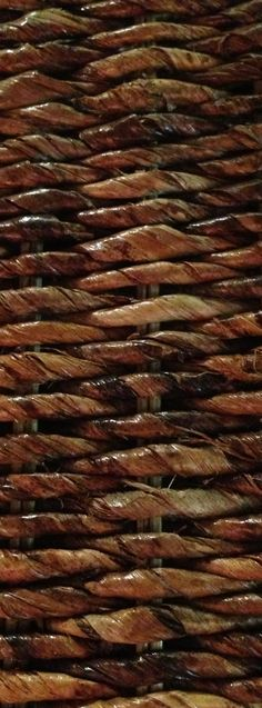 Seagrass is a natural plant often used to create beautiful furniture! Closeup weave, pinned by wickerparadise.com