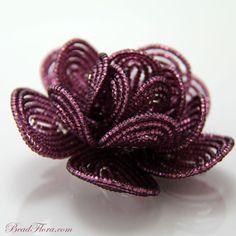 Dreamy with the plum wine earrings! Royal Goddess Hair clip