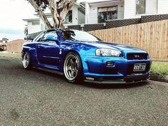 2002 Nissan Skyline GT-R R34 V-Spec II