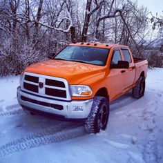 Orange 6.7 Cummins