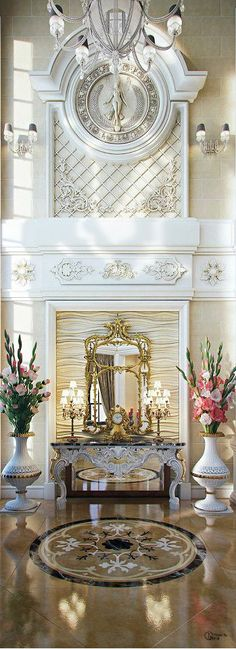 Entry by charisma design. Timeless elegance.