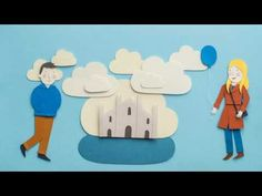 Love Story In Paper Cut Stop motion - YouTube