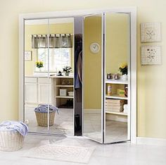 Mirrored Bifold Closet Doors Perfection And Practicality For Your Home Decor Designs