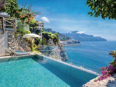 Celebrate your dream wedding or hold an unforgettable event on the Amalfi Coast at the stunning Hotel Santa Caterina - Amalfi Italy Hotel Amalfi, Positano Hotels, Amalfi Coast Italy, Sorrento Italy, Capri Italy, Naples Italy, Venice Italy, Honeymoon Hotels, Best Honeymoon