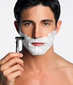 What men don't know about shaving!  The Command  e. Go With the Grain