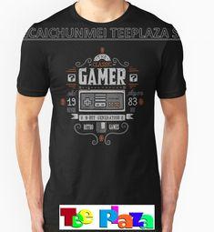 Teeplaza T Shirts With Sayings Crew Neck Short-Sleeve Printing Machine Mens Classic Gamer T Shirts