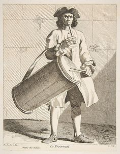 A Provencal, Anne Claude de Tubieres, after Edme Bouchardon, etching with some engraving, 1737.