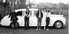 THE BEATLES PAUL MCCARTNEY JOHN LENNON CANDID WHITE ROLLS ROYCE 8x10 PHOTO | eBay