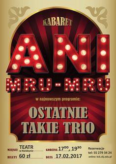 [17.02.2017] Kabaret Ani Mru-Mru – Kwidzyńskie Centrum Kultury