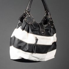 Need a big purse - and stripes make me happy!