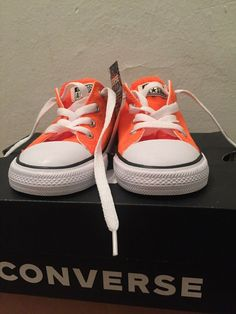 66f26f35cdac2c Converse All Star - Orange - Kids Size 6 (US)  fashion  clothing  shoes   accessories  kidsclothingshoesaccs  unisexshoes (ebay link)