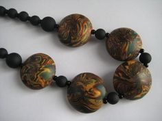 Once Designer Jewellery: Polymer Clay Beads