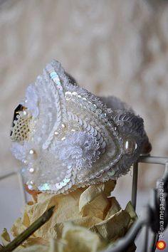 """Браслет """"Тendresse Sapphire"""" - изделия в винтажном стиле, авторский браслет. МегаГрад - портал авторской ручной работы"""