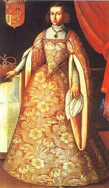 Germaine de Foix (1488 - 1538). Queen of Aragon from 1505 her husband's death in 1516. She had one son, Juan, who died young. She may have had a daughter with her step grandson, Charles V.