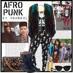 AFRO Punk 3., created by omsoul on Polyvore