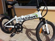 bici pieghevole elettrica k2 ITALWIN usata – Vicenza