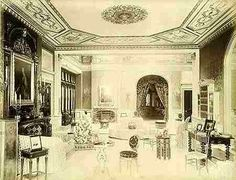 The saloon Worth Park Sussex 1886