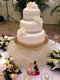 #matrimonio #torta #weddingcake https://www.facebook.com/pages/pasticceria-La-Mimosa/216167395073182
