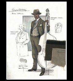 Ma Rainey's Black Bottom (Slow Drag). Arizona Theatre Company. Costume design by Matthew J. LeFebvre. 2010