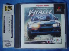 PS1 Japanese :  V - Rally Chamionship Edition SLPS 91099 http://www.japanstuff.biz/ CLICK THE FOLLOWING LINK TO BUY IT ( IF STILL AVAILABLE ) http://www.delcampe.net/page/item/id,0378088698,language,E.html