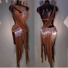 Ideas For Latin Dancing Dresses 2018 Latin Ballroom Dresses, Ballroom Dancing, Latin Dresses, Mode Outfits, Dance Outfits, Rumba Dance, Classy Women, Fashion Stylist, Dance Costumes
