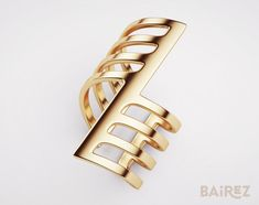 In Bairez each piece speak for itself, while you show the world who you really are. Minimal Jewelry, Modern Jewelry, Brass Jewelry, Jewellery, Body Jewelry, Golden Ring, Ring Size Guide, Square Rings, Gold Plated Rings
