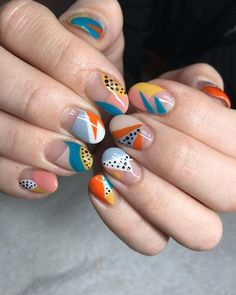 Looking for some exciting nail art designs? Keep reading to see some of the most exciting nail trends of from pearl embellishments to almond tips. Nail Art Designs, Simple Nail Designs, Nails Design, Natural Nail Designs, Minimalist Nails, Nail Art Abstrait, Hair And Nails, My Nails, Manicure Gel