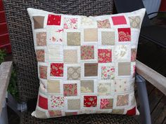 Anne Marie´s Quilt: A new cushion from Moda Bakeshop .