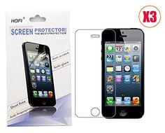 Iphone 5 / Iphone 5s / Iphone 5c Anti-scratch, Anti-glare, Anti-fingerprint, Dust Free Screen Protector (3 Pack) HOFI http://www.amazon.com/dp/B00FC7EH28/ref=cm_sw_r_pi_dp_d.1-vb066RN3P