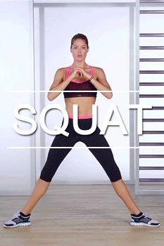 squats dificiles Hazlos dos días sí y uno no, 3 series de 15 repeticiones cada una y verás los resultados