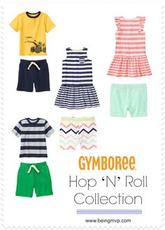 being MVP: Sharing the Important of Play with Gymboree's Hop 'N' Roll Collection + Supporting KaBOOM!