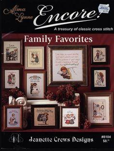Encore! Family Favorites Cross Stitch Leaflet