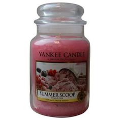 Summer scoop scented large jar 22 oz