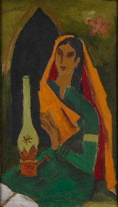 M F Hussain I Saffronart Winter Auction I December 11, 2013 #Indian #Art #Fine Art #Saffronart #Auction