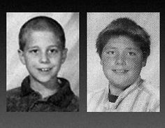 Andrew Golden, left, and Mitchell Johnson, right, were responsible for the 1998 massacre at Jonesboro Westside Middle School in Arkansas (5 were killed, 10 wounded)