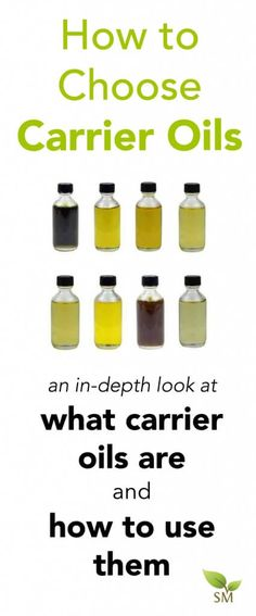 Carrier oils are a n