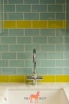 Make a brave, bold statement in your bathroom or kitchen with these bright & funky glass splashback tiles. Brand new to the UK, find these cutting edge products at amazing prices from Too-Jazzy.com.