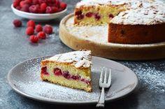 Kublanka vaří doma - Malinovo-mandlový koláč