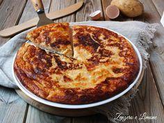 Pizza+di+patate+con+prosciutto+e+mozzarella