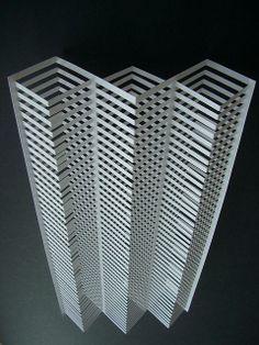 FORMA - escultura feito de papel