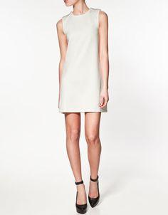 DRESS WITH APPLIQUÉ ON NECKLINE - Last sizes - Woman - SALE - ZARA United States
