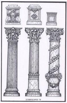 Interesting Find A Career In Architecture Ideas. Admirable Find A Career In Architecture Ideas. Architecture Antique, Detail Architecture, Architecture Drawing Art, Roman Architecture, Classic Architecture, Historical Architecture, Architecture Romaine, Roman Columns, Roman Art