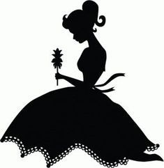 Silhouette Design Store - View Design pretty girl with flowerI think Im in love with this shape from the Silhouette Design Store!Image of design Silhouette Design, Vogel Silhouette, Silhouette Clip Art, Flower Silhouette, Girl Silhouette, Silhouette Images, Ballerina Silhouette, Silhouette Portrait, Cricut Creations