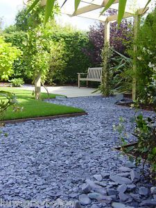 Quality Garden Blue Slate Chippings Bulk Bag NOW ONLY £74.99 We Deliver Local