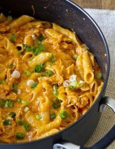 One Pot Cheesy Chicken Pasta
