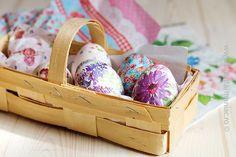 Ouă de Paște cu șevețele