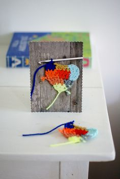 [colored heart] by wood & wool stool, via Flickr