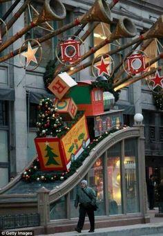 Christmas in Chicago, Illinois, USA