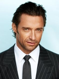 Hugh Jackman Slick Hairstyle