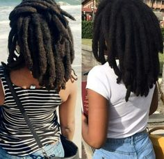 Afro dreads, better known as freeform locs, are formed by letting the hair lock on its own, without much outside influence. Here's a guide to afro dreads. Dreads Styles, Curly Hair Styles, Natural Hair Styles, Hair Locks, My Hair, Hair Updo, Dreadlock Hairstyles, Cool Hairstyles, Wedding Hairstyles